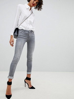 Emporio Armani Low Rise Skinny Jeans - 0634 grigio