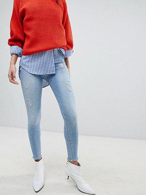 River Island Molly Light Wash Skinny Jeans - Light wash