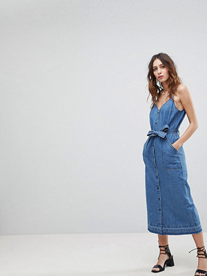 Current Air Midi Denim Dress