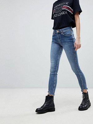 River Island Amelie Twisted Seam Skinny Jeans - Dark tint