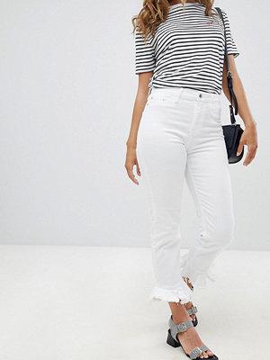 River Island Frill Hem Skinny Jeans