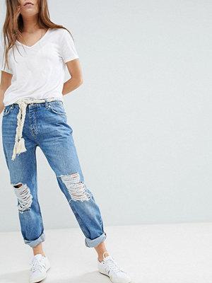 Superdry Jeans i boyfriend-modell Hawaii-blå