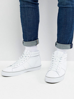 Polo Ralph Lauren Shaw Leather High Top Trainers