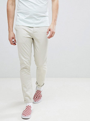 ASOS DESIGN Skinny Chinos In Putty - Oatmeal