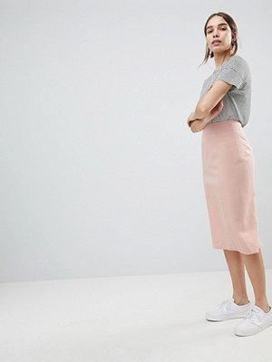 ASOS DESIGN mix & match pencil skirt - Nude