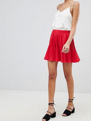 ASOS DESIGN pleated mini skirt