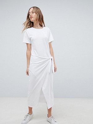 Polo Ralph Lauren Longline T-Shirt Dress With Tie Wrap Front