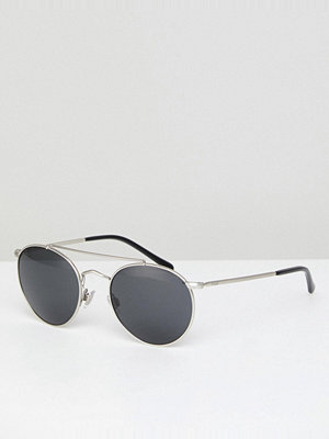 Polo Ralph Lauren Round Sunglasses with Double Brow
