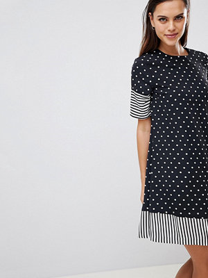 Y.a.s Spot And Stripe Shift Dress