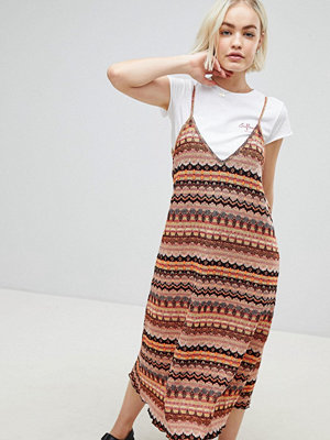 Pull&Bear knitted cami midi dress