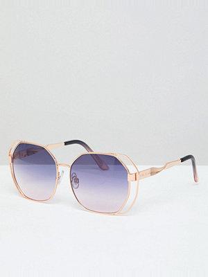 Solglasögon - River Island Double Frame Angled Tinted Sunglasses