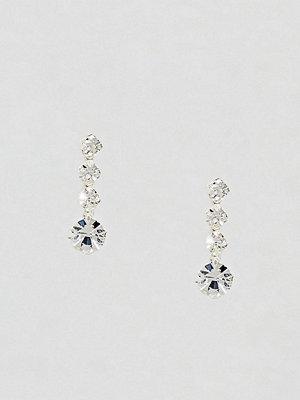 Kingsley Ryan örhängen Mini Rhinestone Drop Stud Earrings