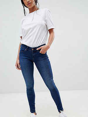 Dr. Denim Petite Dixy Low Rise Skinny Jean - Blue used