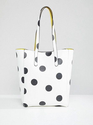 Stradivarius Large Spot Shopper