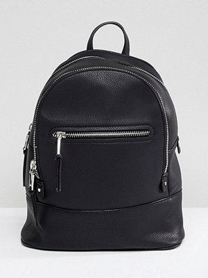 Mango ryggsäck Zip Detail Backpack
