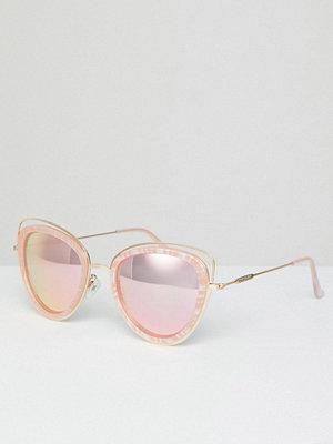 Solglasögon - River Island Marble Effect Cat Eye Sunglasses