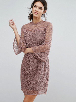 Y.a.s Stia Lace Dress - Antler