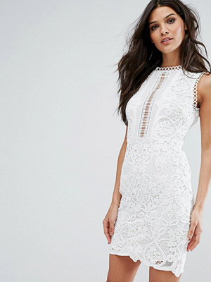 River Island Sleeveless With Floral And Crochet Detail