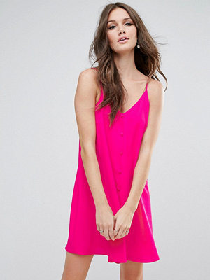 River Island Slip Dress - Pink bright