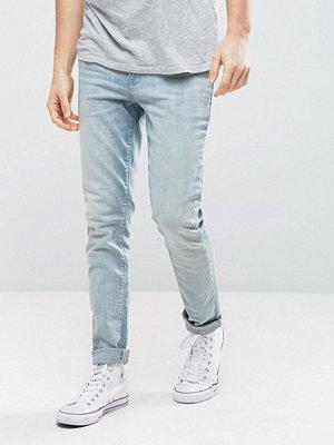 ASOS Skinny Jeans In Vintage Light Wash Blue - Light wash vintage