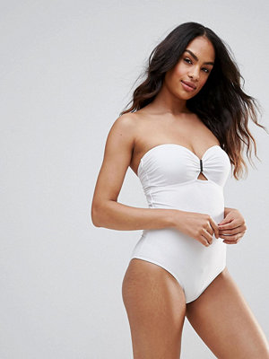 French Connection Bandeau Swimsuit
