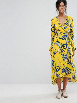 Gestuz Lemon Wrap Dress - Lemon