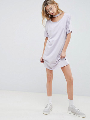 Cheap Monday Belong Neck Strap Shift Dress - Dust lilac