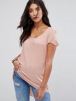 Brave Soul Belinda T-shirt med lång bakdel