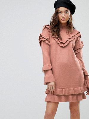 River Island Frill Detail Jumper Dress