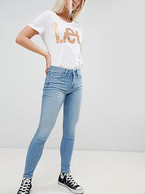 Lee Jeans Lee Scarlett Urtvättade jeans med smal passform Light worn