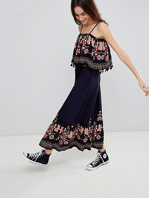 Brave Soul Kaylee Maxi Dress with Tassel Trim