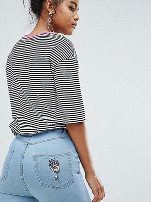 Chorus Tall Skinny jeans med hög midja