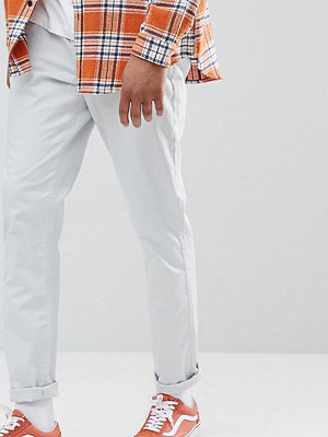 ASOS DESIGN Tall Tapered Chinos In Ice Grey - Glacier grey