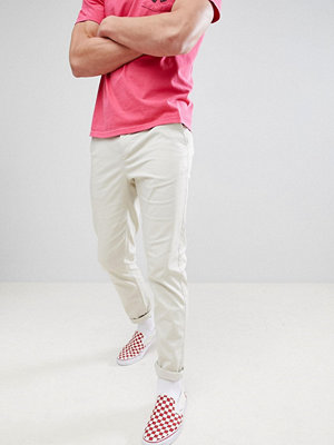 ASOS DESIGN Slim Chinos In Putty - Oatmeal