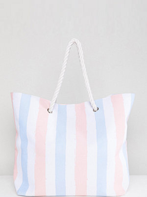 South Beach shopper Stripe Beach Bag