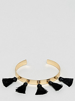 ASOS Curve armband ASOS DESIGN Curve Tassel Cuff Bracelet