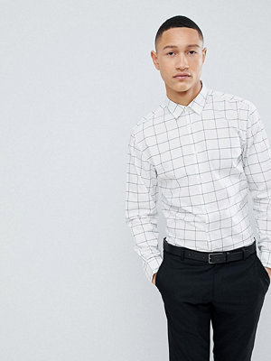 Selected Homme Slim Fit Smart Shirt With Grid Check