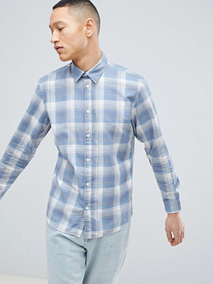 Selected Homme Slim Fit Check Shirt - Flint stone