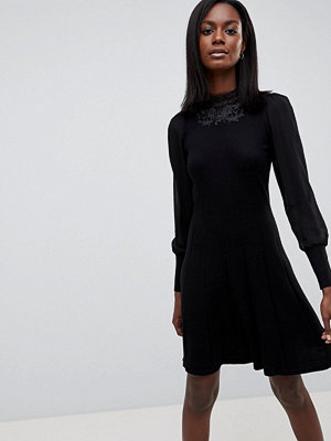 Oasis High Neck Lace Dress