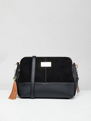 River Island axelväska Triple Compartment Shoulder Bag