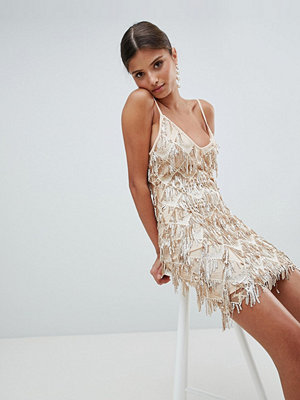 Girl In Mind Sequin Tassel Mini Dress