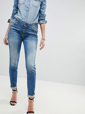 Replay Katewin Slim Jeans - Mid wash