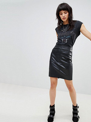 Vero Moda Faux Leather Skirt