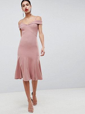 Club L Bardot Fit & Flare Dress
