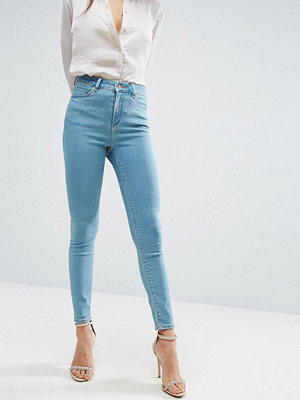 ASOS RIDLEY Skinny Jeans in Opal Wash - Midwash blue