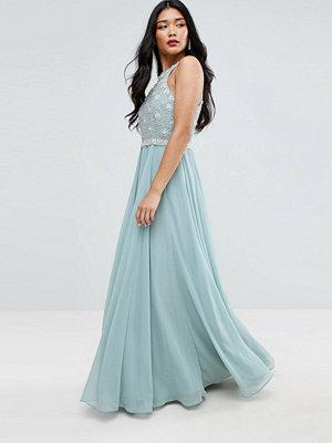 ASOS Cutaway Embellished Bodice Maxi Dress