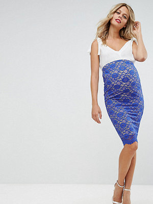 ASOS Maternity Over The Bump Lace Pencil Skirt