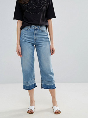 French Connection Detroit Cropped Wide Leg Jeans
