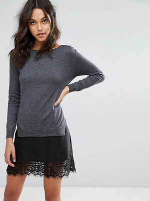 French Connection Melba Knits Sweater Dress with Lace insert