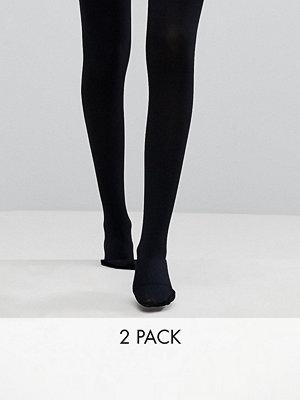 ASOS DESIGN 2-pack tights i 120 denier